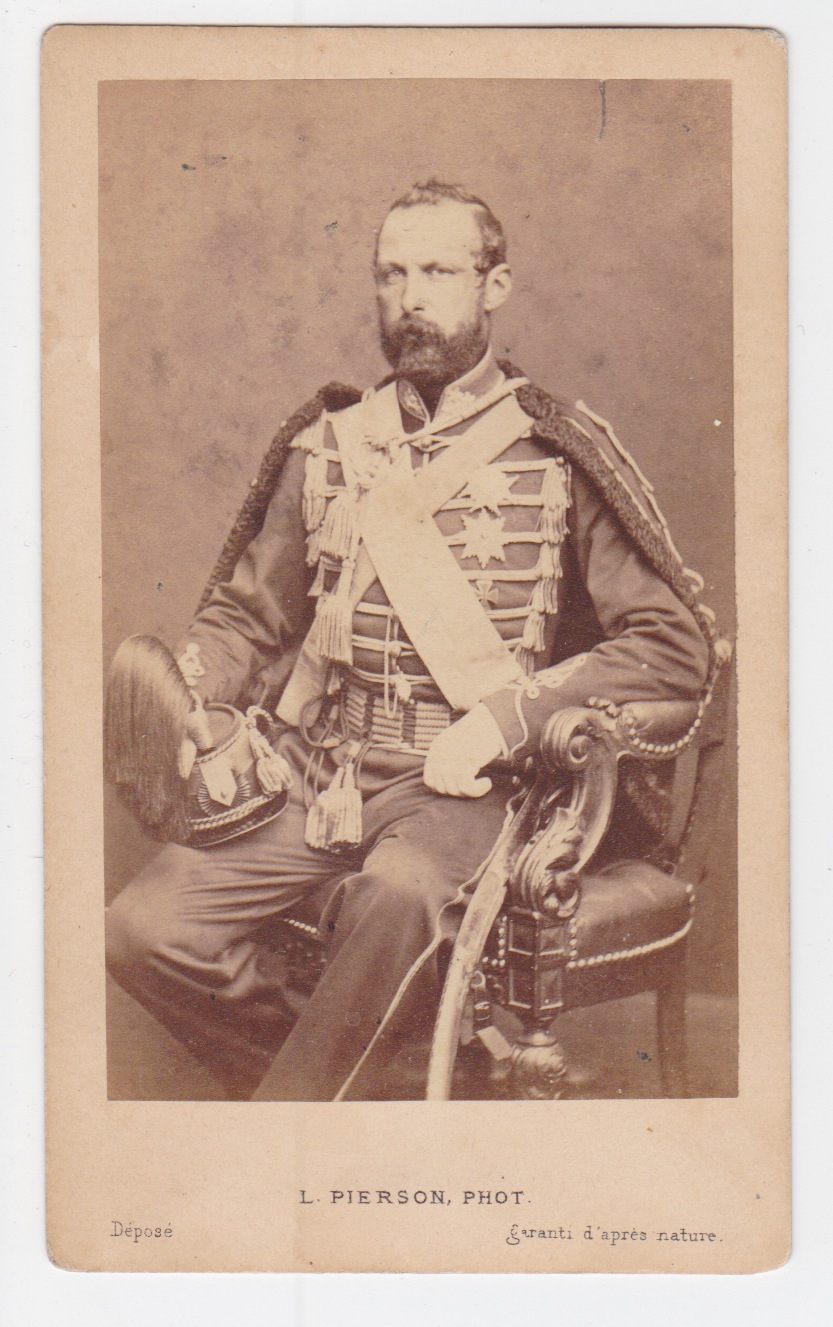 CDV KIng of Sweden Charles XV